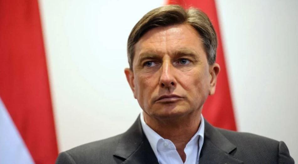 Pahor posjetio vojno-policijsku postrojbu na granici s Hrvatskom