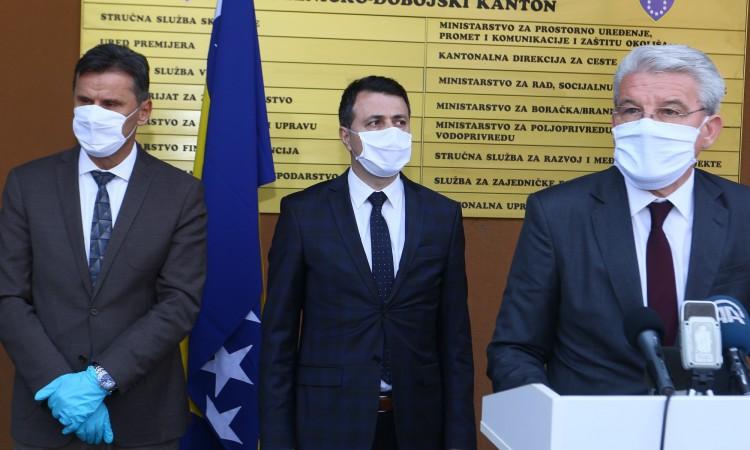 Džaferović i Novalić pohvalili način borbe protiv korone Vlade ZDK