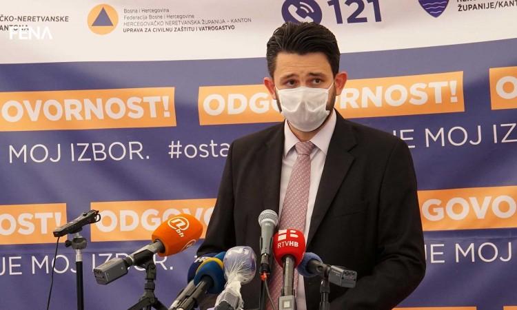 Tri pacijenta hospitalizirana u mostarskoj covid-bolnici, četiri otpuštena