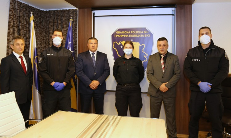 Deseta generacija kadeta Granične policije BiH položila prisegu