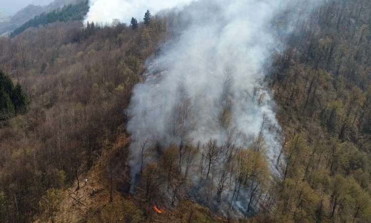 Kiša ugasila većinu požara na području HNŽ-a