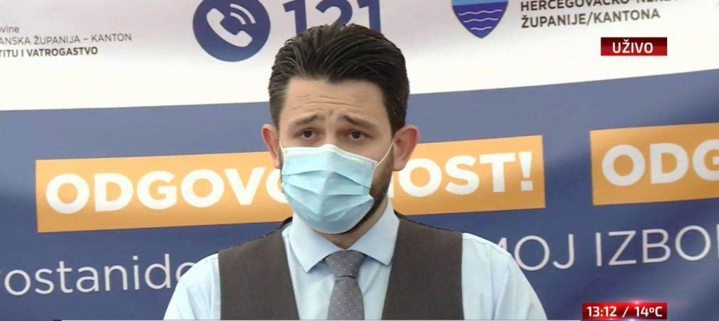 Devet novozaraženih u HNŽ, ugrožen zdravstveni sustav u Hercegovini
