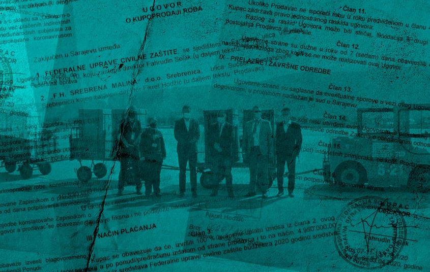"""Objavljen ugovor o nabavci respiratora: 10,5 milijuna KM avansno uplaćeno """"Srebrenoj malini"""""""