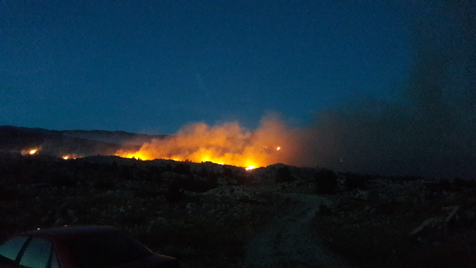 U HNK zabilježeno 27 požara, deset još uvijek aktivno