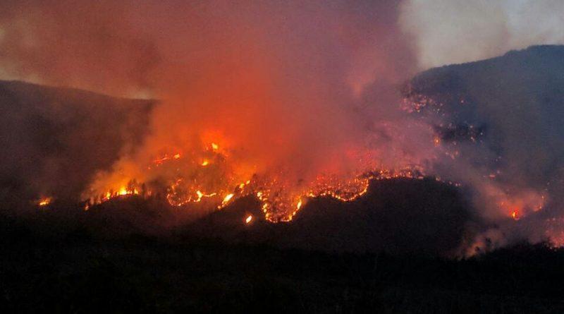 VIDEO | Pogledajte kako iz zraka izgleda požar sjeverno od Mostara