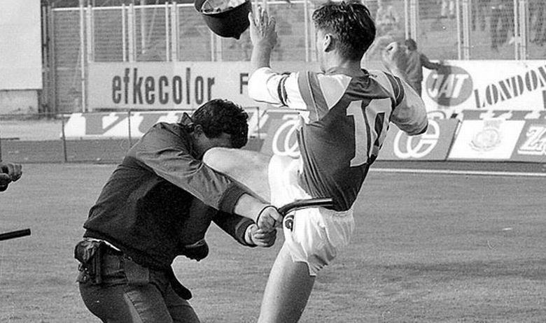 Bobanov skok na milicajca postao simbolom otpora: Godišnjica nikad odigrane utakmice na Maksimiru