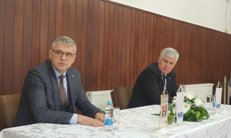 Čović posjetio Brčko, sastao se s dogradonačelnikom Domićem