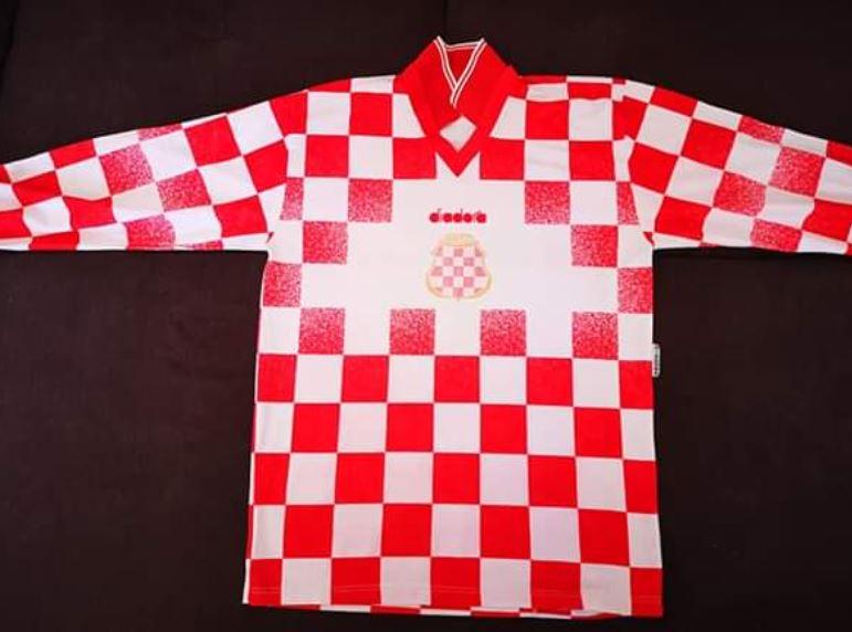 Originalni dres u kojem je igrala Herceg Bosna prodan za 37 tisuća kuna