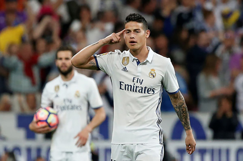 James Rodriguez želi preći u Atletico Madrid