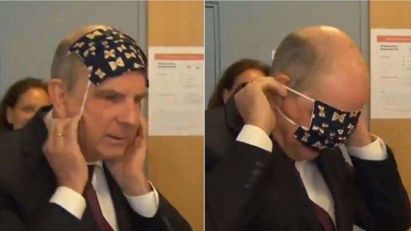 Fadil dobio konkurenciju: I ovaj političar se muči sa stavljanjem maske