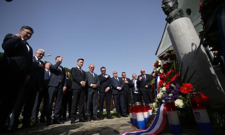 Plenković: Uloga Tuđmana u stvaranju hrvatske države ostaje trajna vrijednost