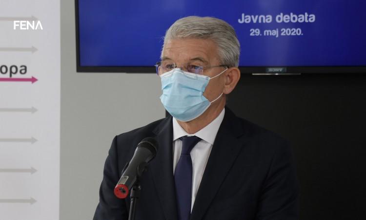 Džaferović o uhićenju Novalića: On je učinio sve što je mogao