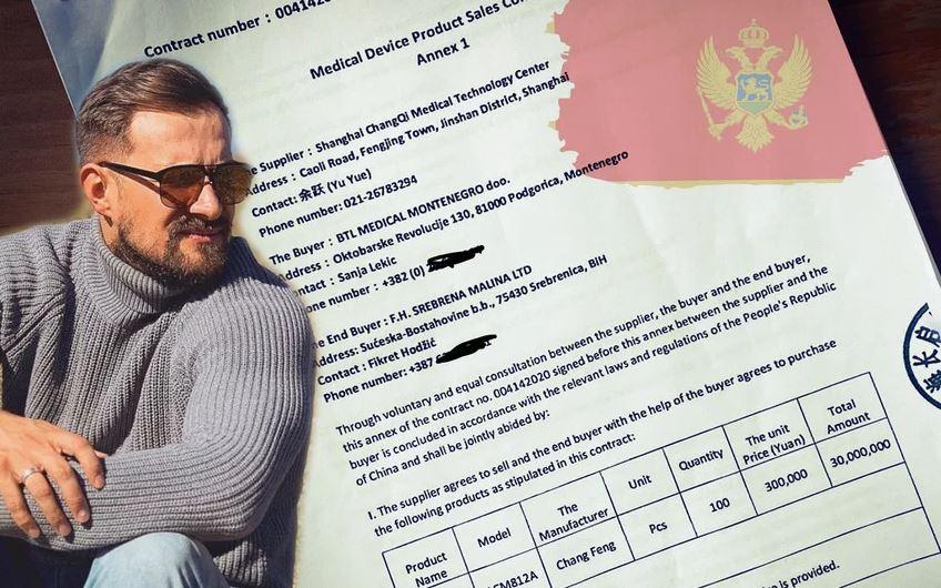 """""""Srebrena malina"""" kupila respiratore preko crnogorske firme, plaćeni 3,9 milijuna eura"""