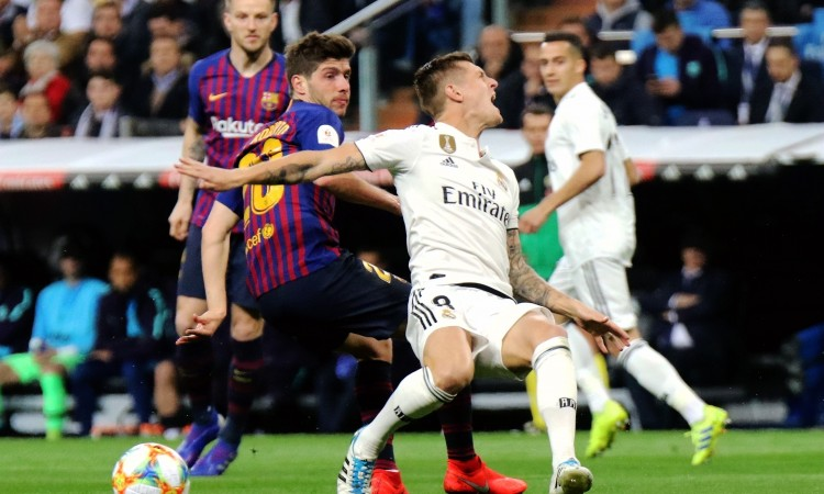 Real i Barcelona nastavljaju mrtvu trku u španjolskom prvenstvu