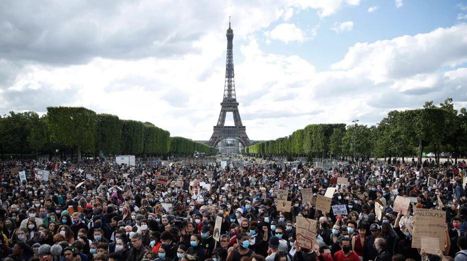 Prosvjedi protiv rasizma u Francukoj i nekim njemačkim gradovima