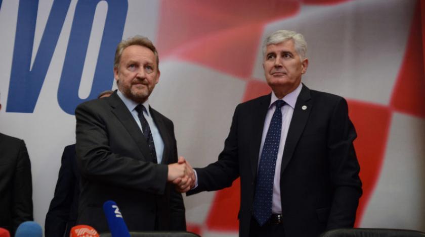 Čović i Izetbegović danas u Sarajevu o izmjenama Izbornog zakona