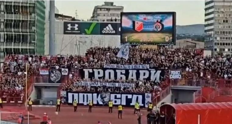 """Sramotan transparent Grobara o Vukovaru: """"Srpsko uvijek bilo i bit će mjesto gdje braća biju plave dečkiće"""""""