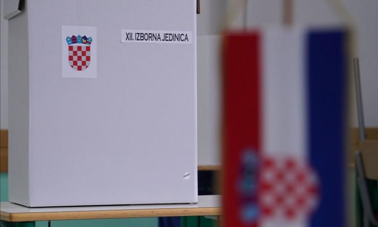 Na hrvatskim parlamentarnim izborima manje glasača u odnosu na 2016.
