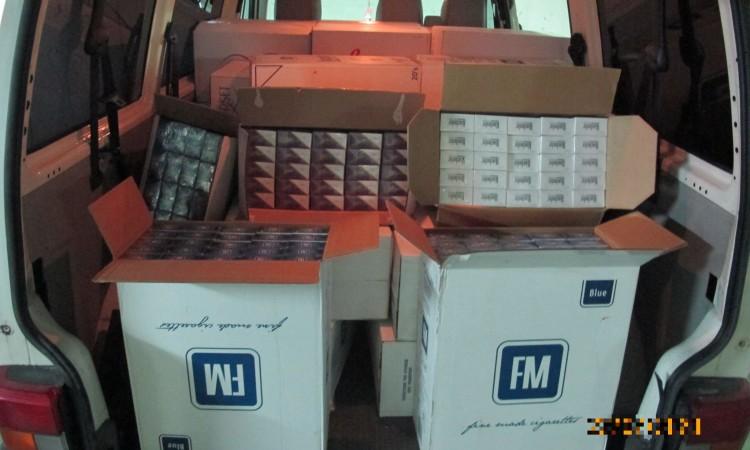 Policija u Hercegovini zaustavila kombi i u njemu pronašla cigarete bez markice