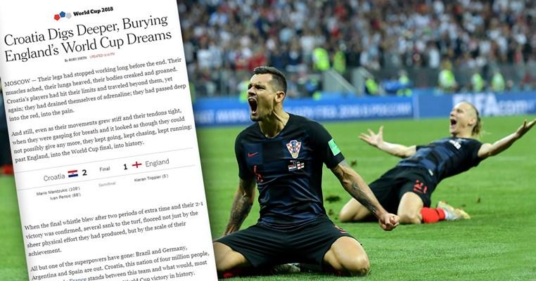New York Times je napisao najljepši tekst o pobjedi Hrvatske protiv Engleske