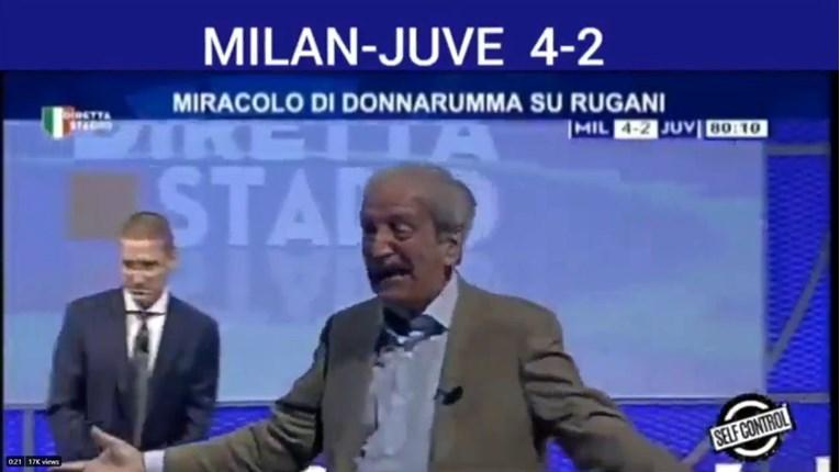 (VIDEO) Legendarni komentator Milana u suzama urlajući slavio Rebićev gol