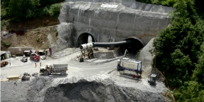 Pogledajte kako izgledaju dronom snimljena gradilišta na Koridoru Vc