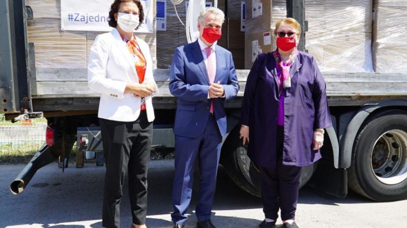 EU donirali BiH još 28 respiratora