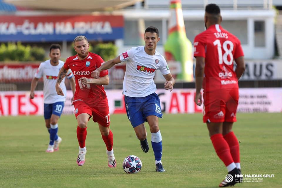 Osijek pobijedio Hajduk u supervažnoj utakmici za Ligu prvaka