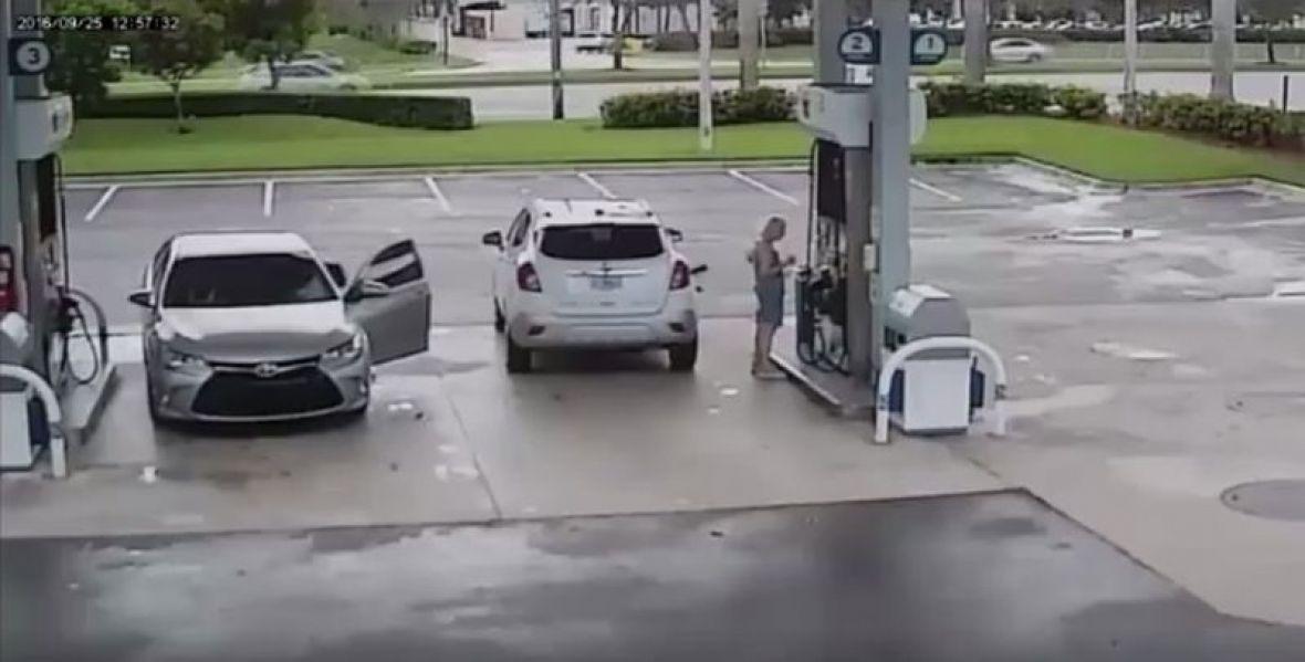 Prijeteći pištoljem razbojnici ukrali novac od radnika benzinske crpke