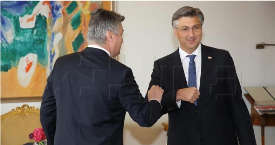 Milanović i Plenković o konstitutivnosti Hrvata u BiH