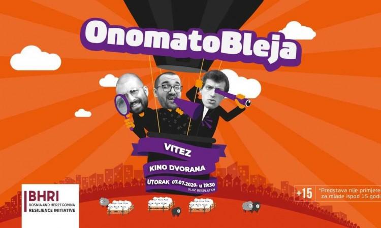 'Onomatobleja Show' u Vitezu i Širokom Brijegu