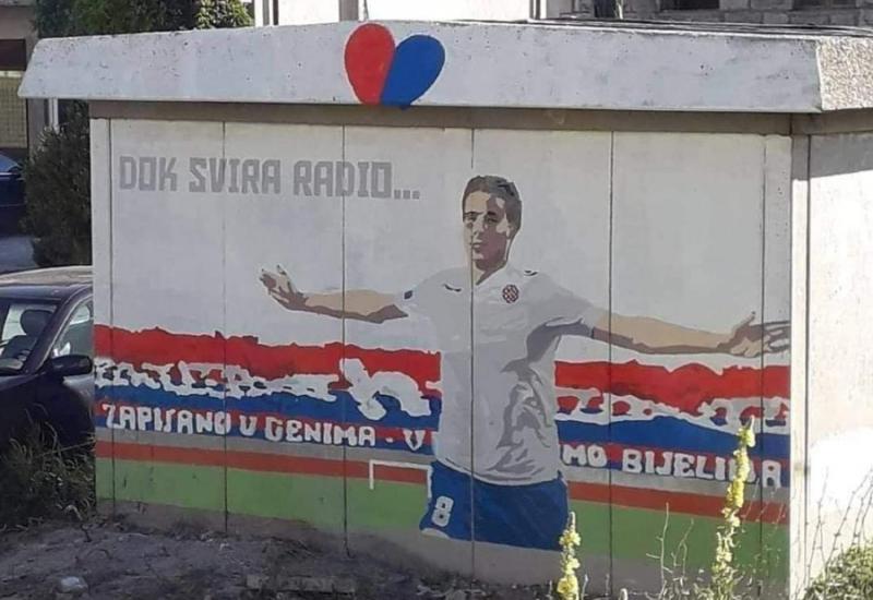 Mario Pašalić dobio mural u Tomislavgradu