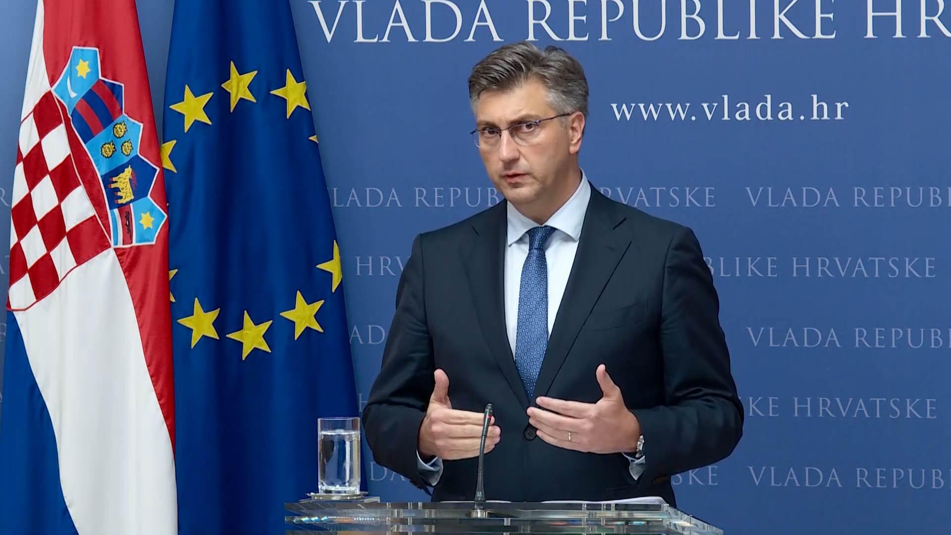 Plenković otkrio šalje li Hrvatska vojsku na granicu