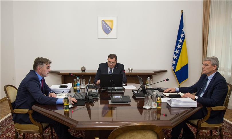 Plenković dobio čestitku iz Predsjedništva BiH