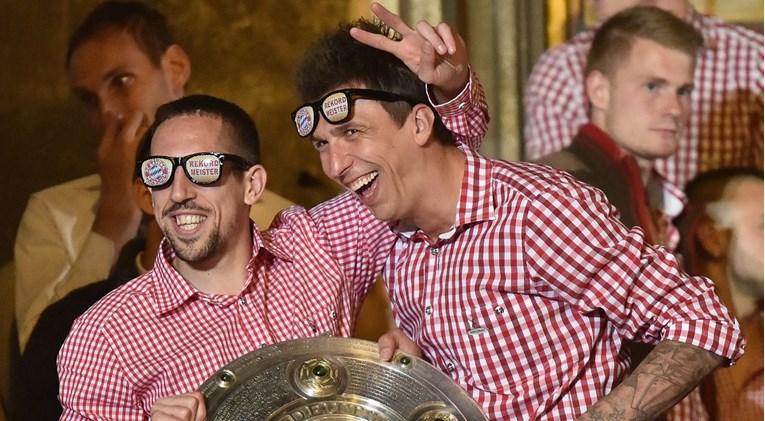 Francuz i Hrvat ponovno zajedno: Ribery je zadužen da nagovori Mandžukića na transfer