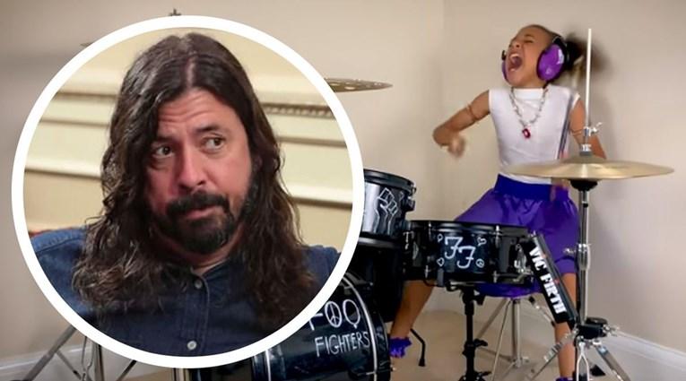 Desetogodišnjakinja izazvala ubnjara Foo Fightersa na dvoboj, prihvatio je