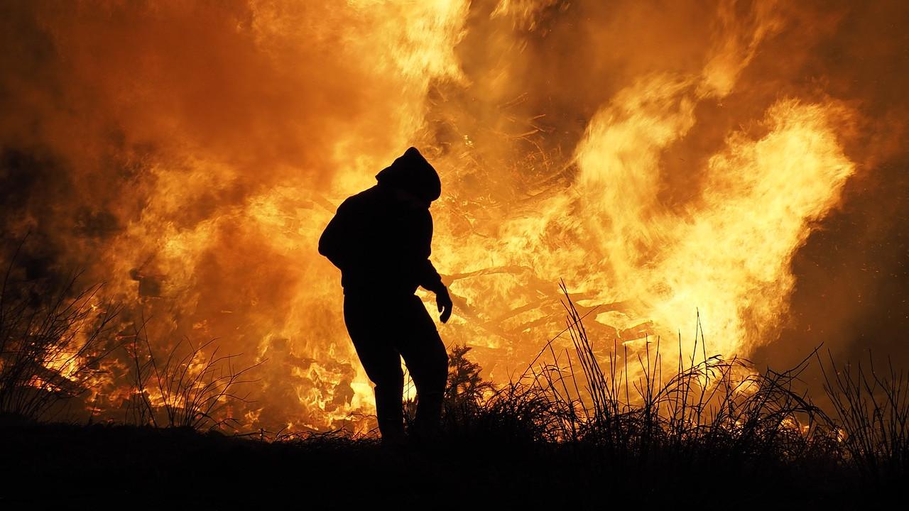 Pet požara na prostoru Širokog Brijega i Posušja