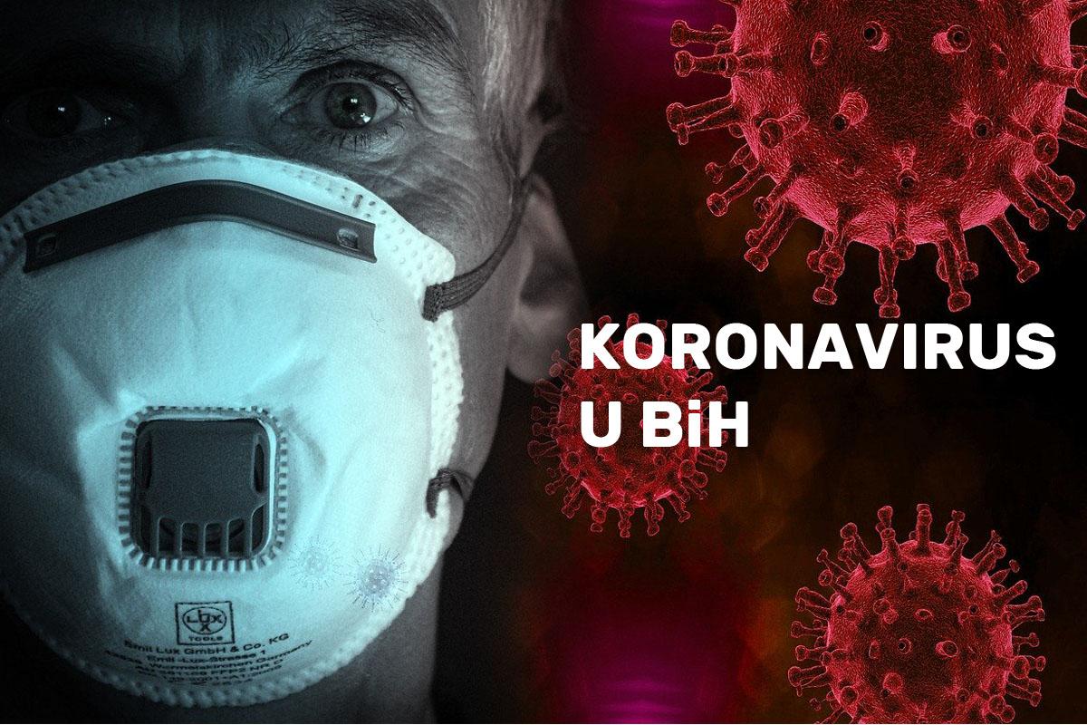 Danas u BiH registrirano 364 nova slučaja zaraze i deset preminulih