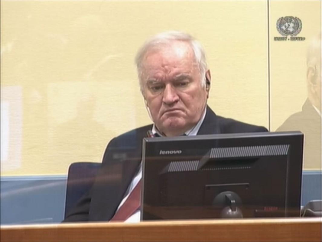 Tužiteljstvo traži da se Mladiću potvrdi doživotni zatvor, on odmahuje glavom