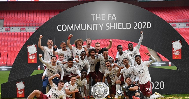 Arsenal pobijedio Liverpool i osvojio Community Shield