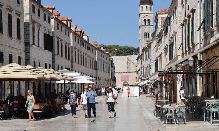 Veliki pad broja turista u Dubrovniku