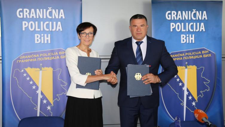 GP BiH primila donaciju Njemačke u vrijednosti od 850.000 eura