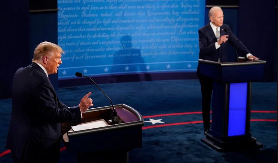 Biden izgubio živce: Čovječe, hoćeš li ušutjeti? Evo čime ga je Trump naživcirao