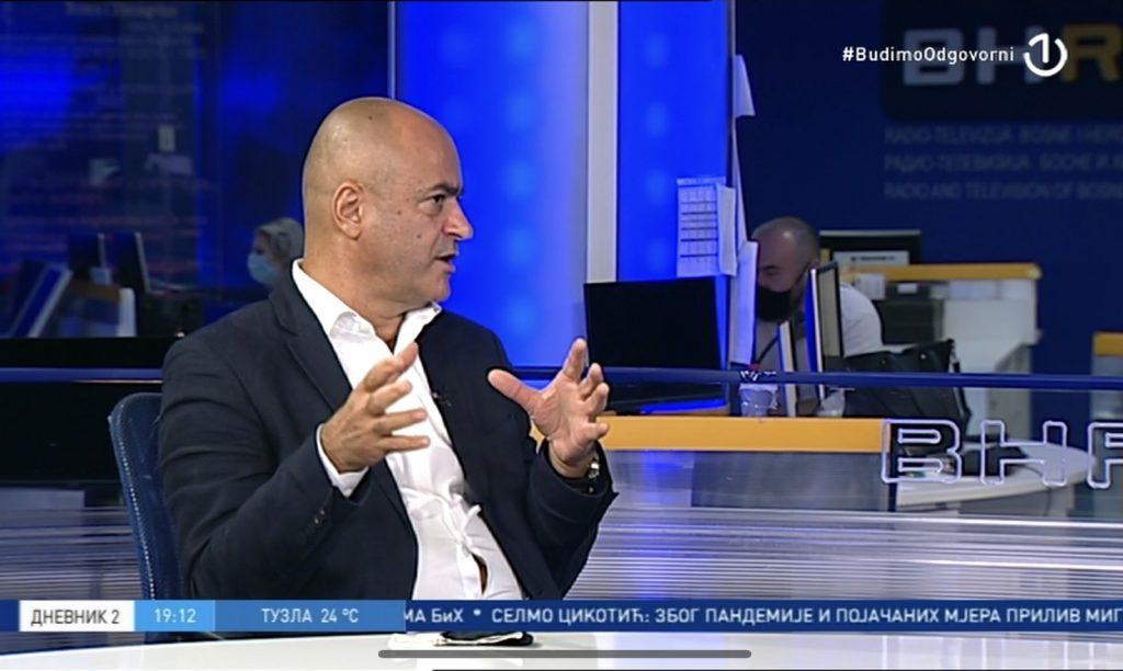 'Nadam se da će zdravstveni sustav u Hercegovini izdržati'