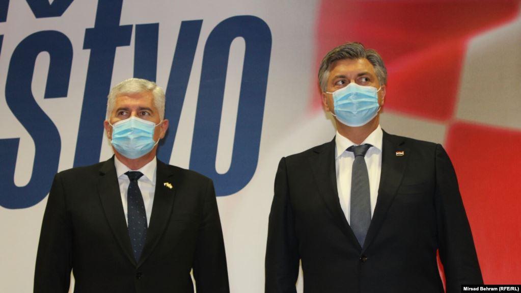Čović sudjelovao na sjednici Predsjedništva i Nacionalnog vijeća HDZ-a RH