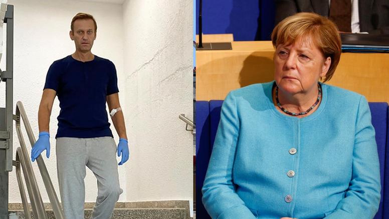 Merkel posjetila Navaljnog u bolnici