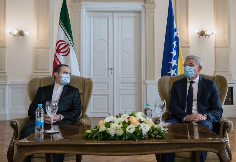 Džaferović primio pisamce iz Irana