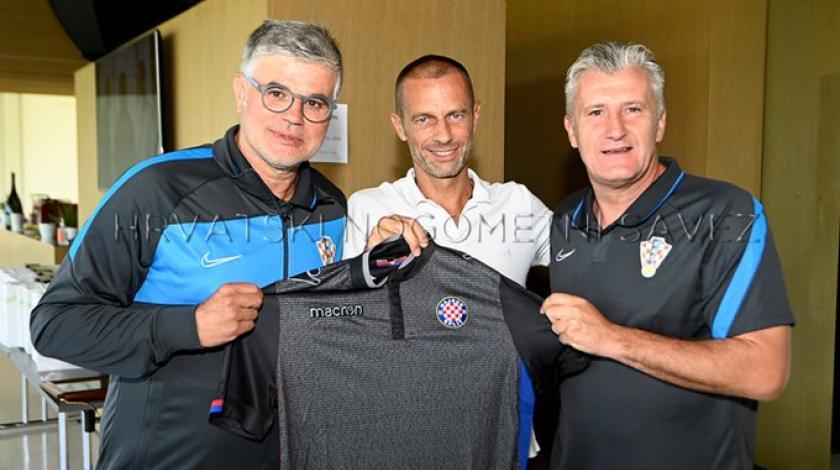 Prvi čovjek UEFA-e: Navijač sam Hajduka i uvijek ću biti uz Hajduk!