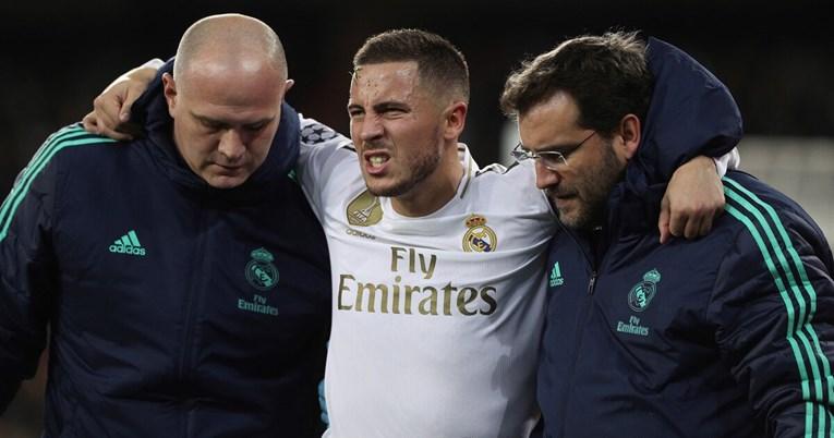 Real u problemima: Hazard se ponovno ozlijedio