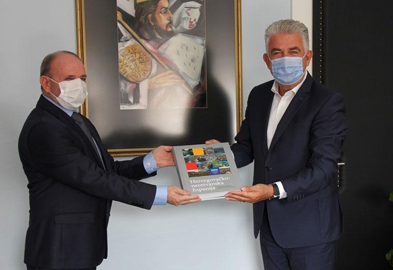 Razvučem osmijeh i briga me: Herceg ugostio turskog konzula